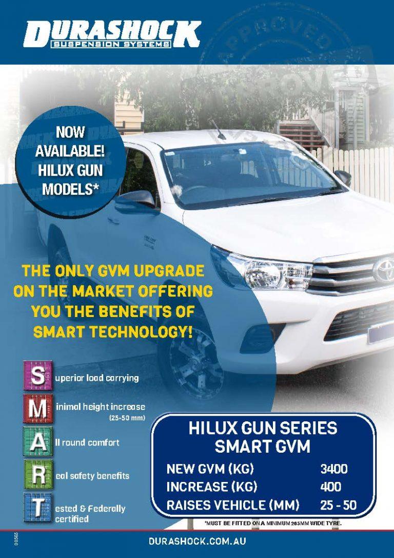 Durashock New GVM Range 2021 Catalogue cover | Driveline Services Australia